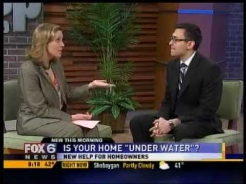 interview how homeowners can refinance underwater mortgage