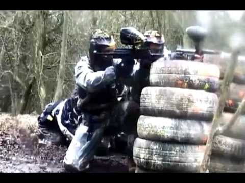 Paintball is a heat pumping sport for rambo's out there
